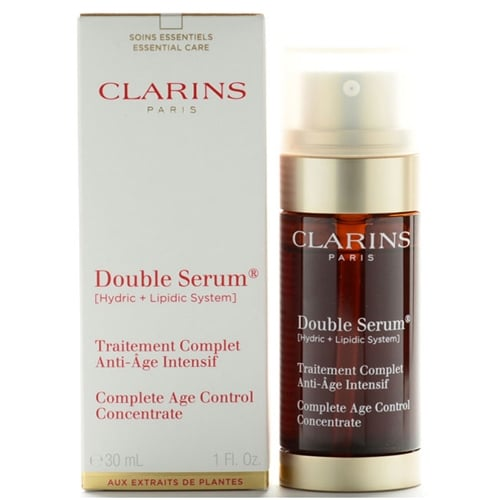 buy clarins double serum 30ml complete age control concetrate. Black Bedroom Furniture Sets. Home Design Ideas