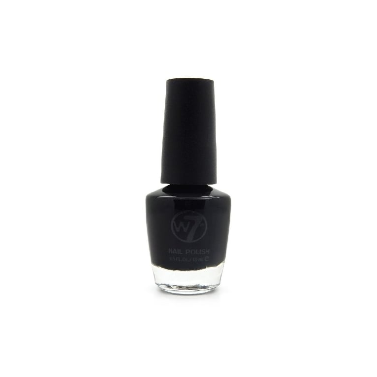 W7 Cosmetics Nail Polish - 28 Black
