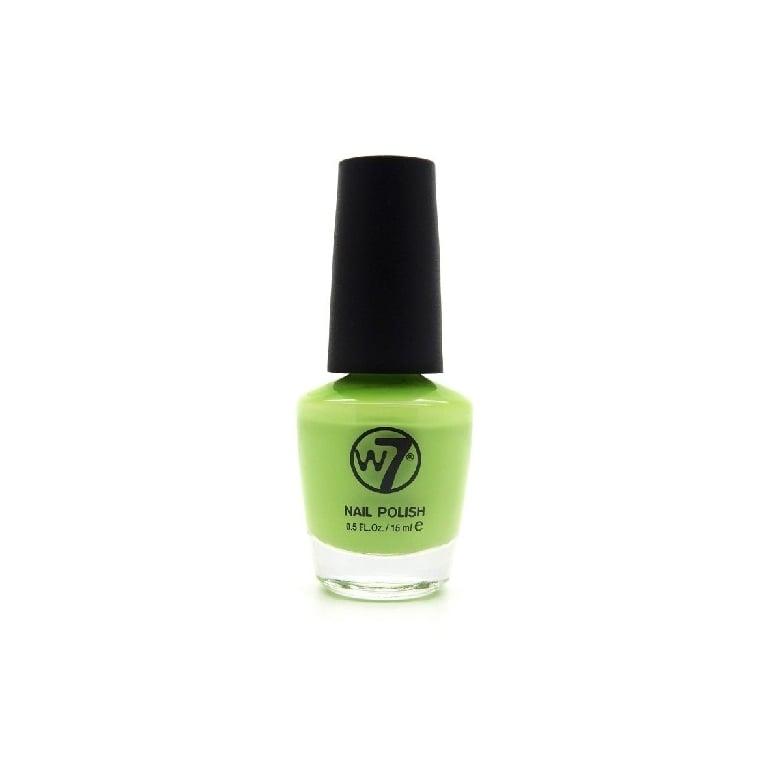 W7 Cosmetics Nail Polish - 30 Lazy Lime.