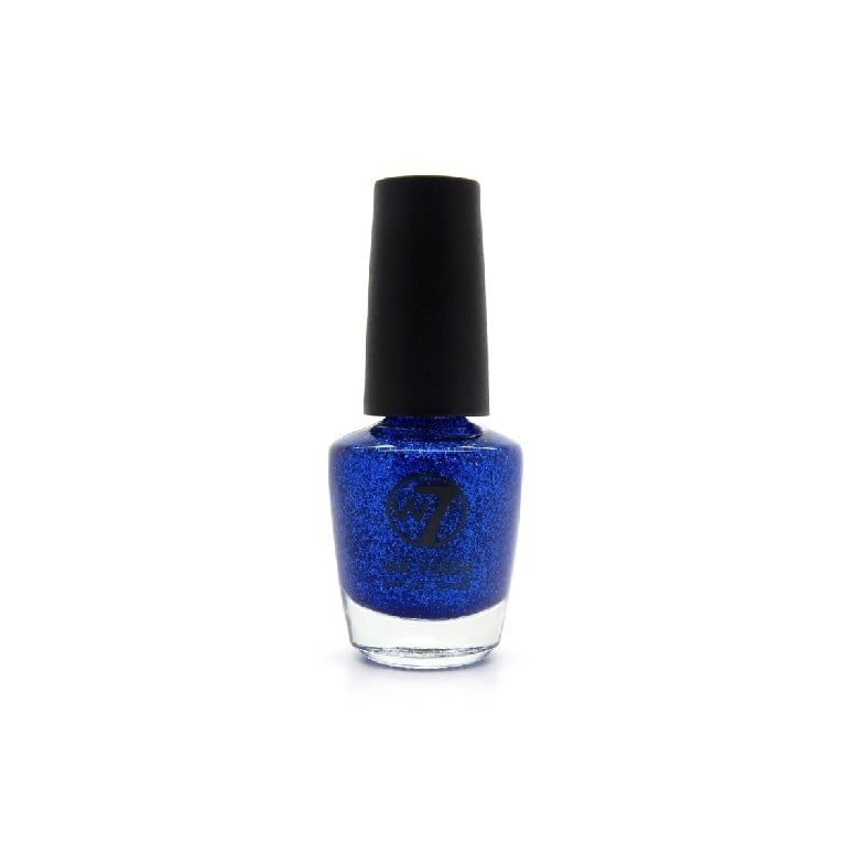 W7 Cosmetics Nail Polish - 3 Blue Dazzle
