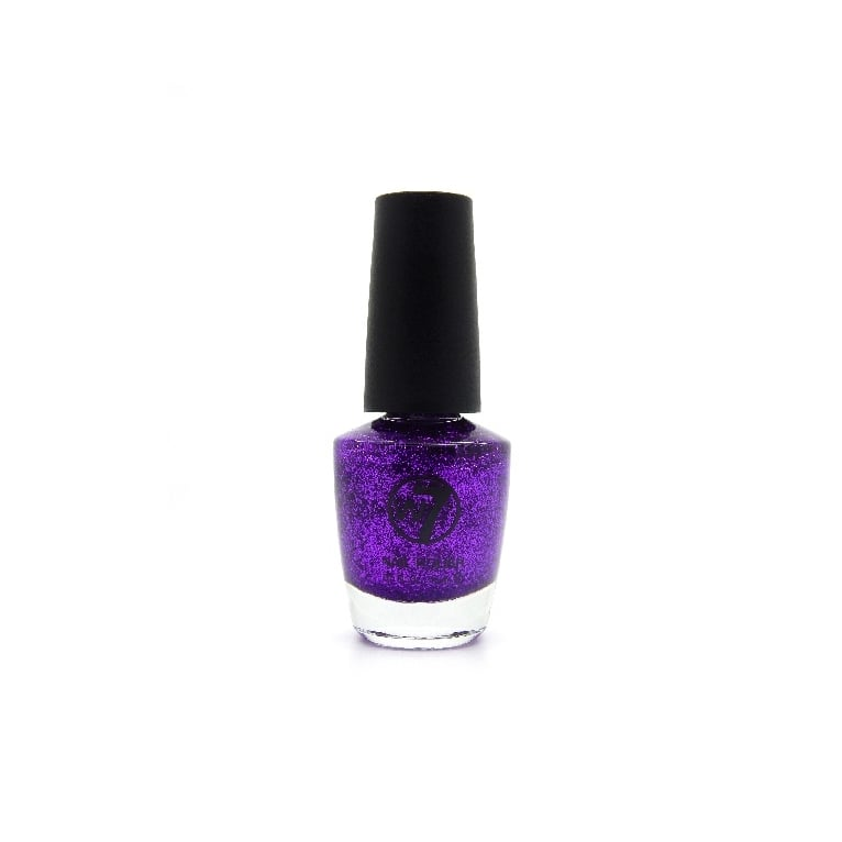 W7 Cosmetics Nail Polish - 4 Purple Dazzle