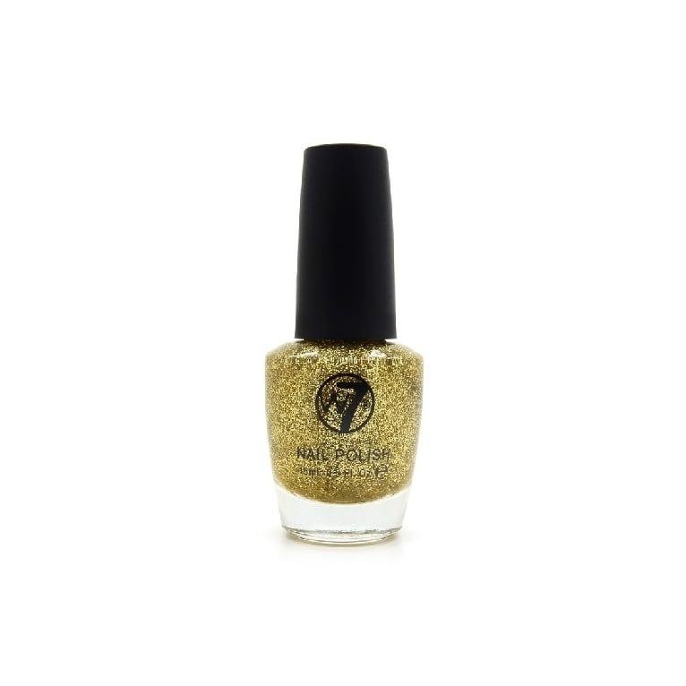 W7 Cosmetics Nail Polish - 6 Gold Dazzle