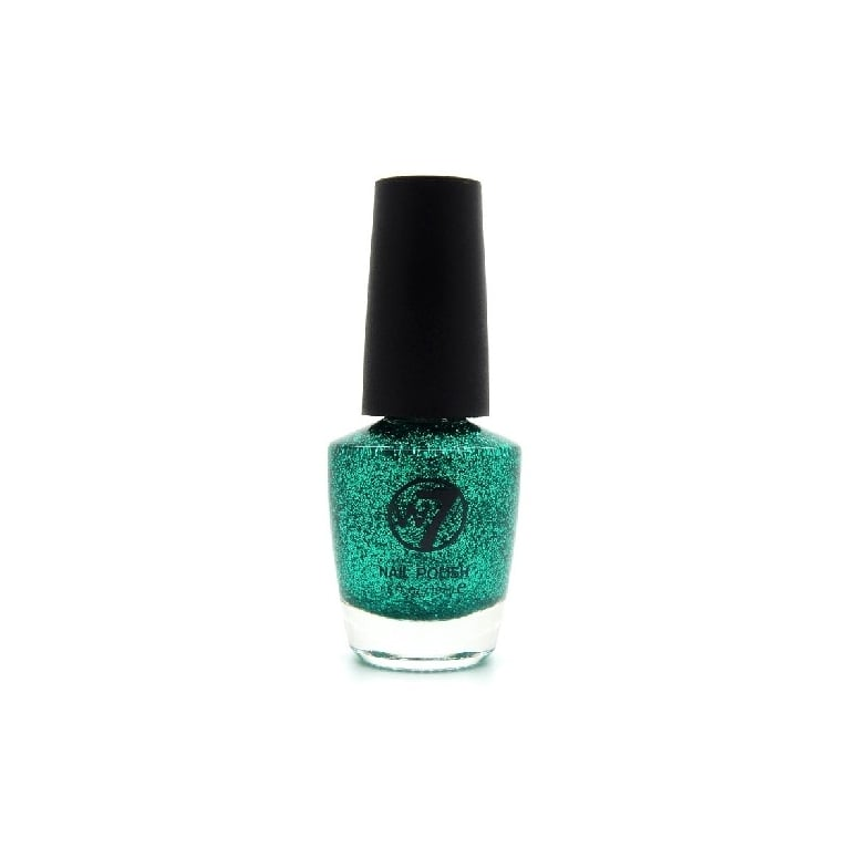W7 Cosmetics Nail Polish - 8 Green Dazzle