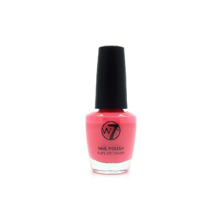 W7 Cosmetics Nail Polish - 23 Neon Pink