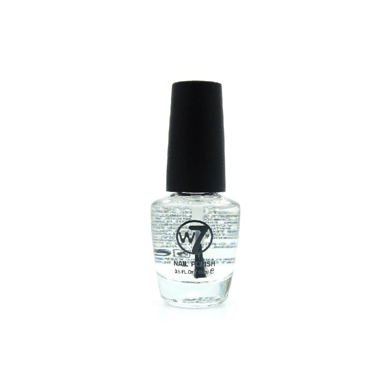 W7 Cosmetics Nail Polish - 33 Diamond Clear Top Coat.