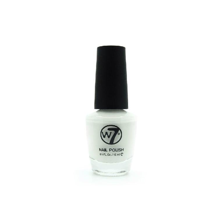 W7 Cosmetics Nail Polish - 34 White