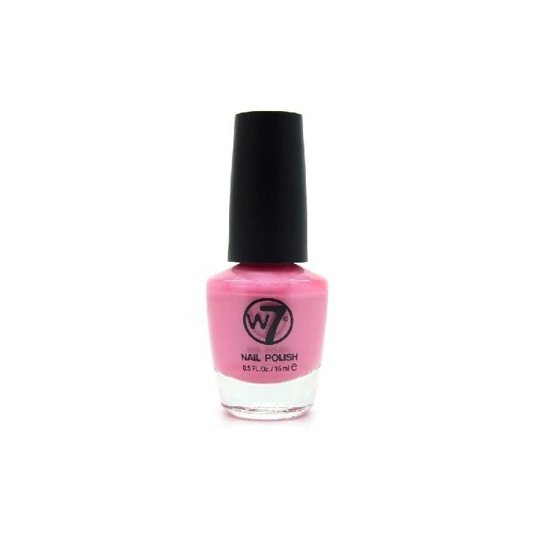 W7 Cosmetics Nail Polish - 48 Pink Shimmer.
