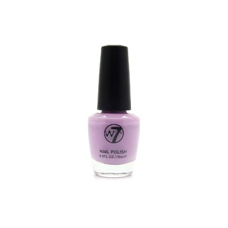 W7 Cosmetics Nail Polish - 63 Sheer Mauve