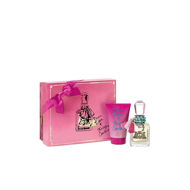 Juicy Couture Peace, Love & Juicy Couture 50ml Eau De Parfum Spray & 100ml Body