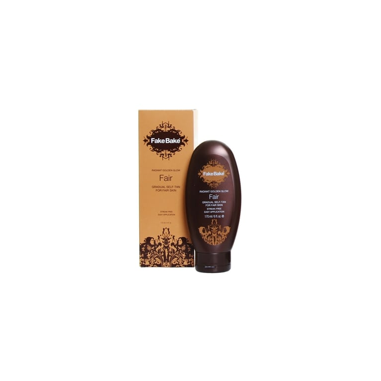 Fake Bake Fair Radiant Golden Glow Gradual Self Tan 170ml.