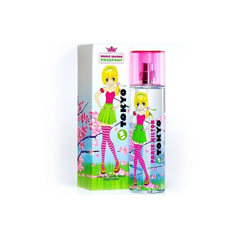 Paris Hilton Passport In Tokyo - 100ml Eau De Toilette Spray.