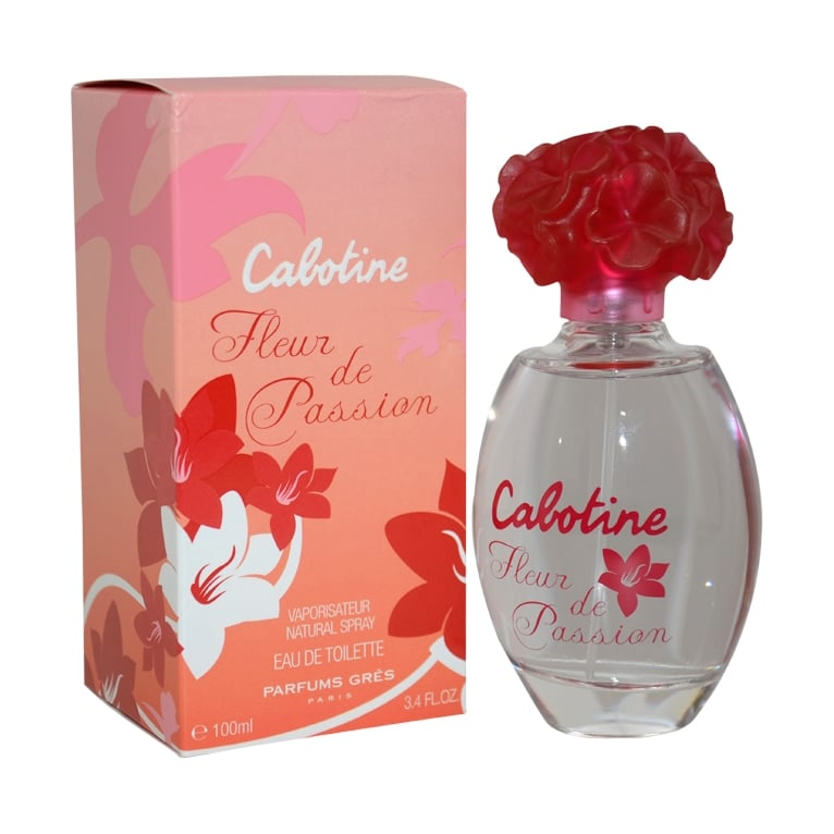 Gres Cabotine Fleur de Passion - 100ml Eau De Toilette Spray.