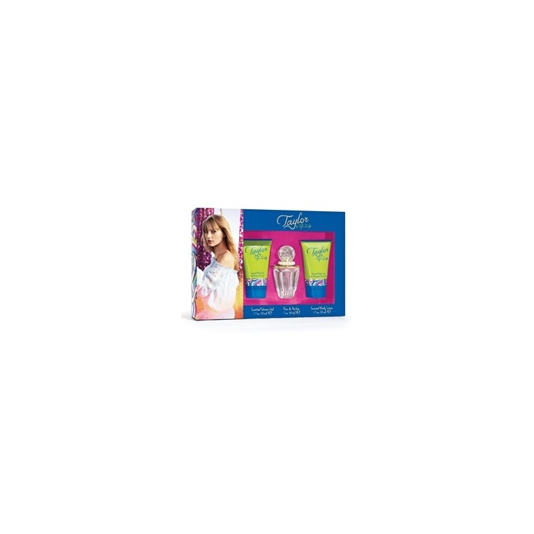 Taylor Swift Taylor By Taylor Swift - 30ml Perfume Gift Set, With Body Lotion and Bath Gel.