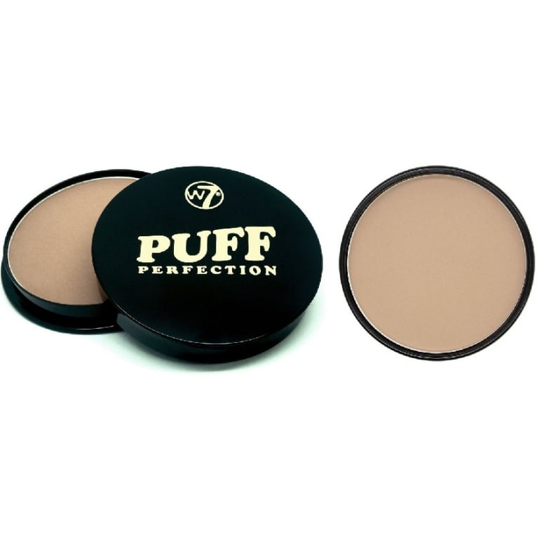 W7 Cosmetics Puff Perfection All In One Cream Powder Compact - New Beige.