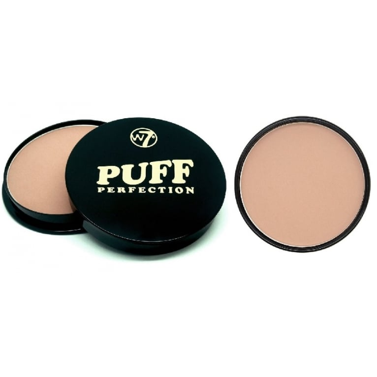 W7 Cosmetics Puff Perfection All In One Cream Powder Compact - True Touch