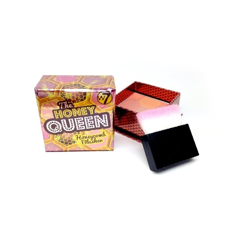 W7 Cosmetics The Honey Queen Honeycomb Blusher.