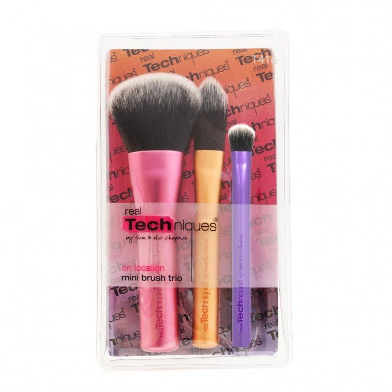 Real Techniques Mini Brush Trio Set.