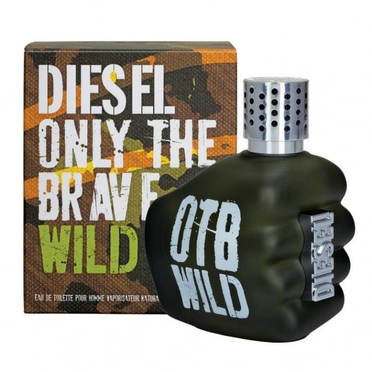 diesel only the brave wild  35ml eau de toilette spray.