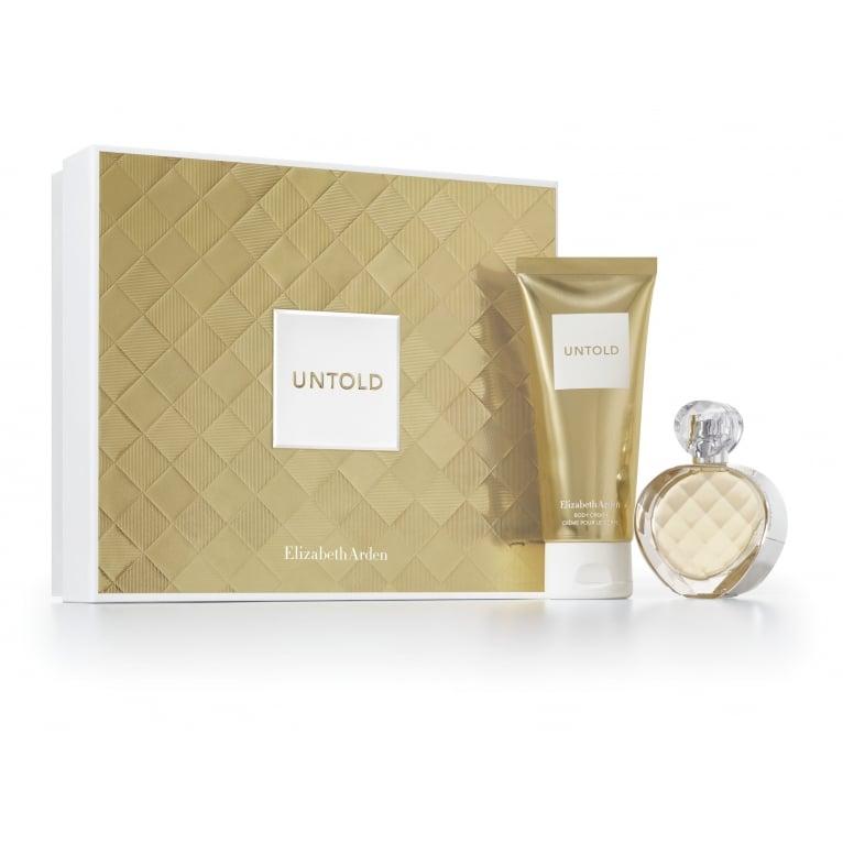 Elizabeth Arden Untold - 30ml Perfume Gift Set With 50ml Body Lotion.
