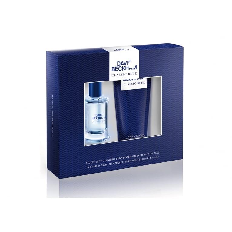 Beckham David Beckham Classic Blue - 40ml Gift Set With Shower Gel.