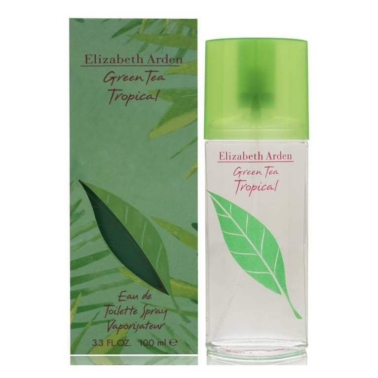 Elizabeth Arden Green Tea Tropical 100ml Eau De Toilette Spray.