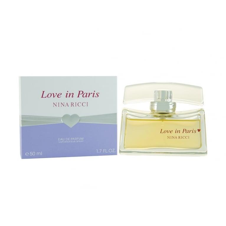 Nina Ricci Love in Paris - 50ml Eau De Parfum Spray.