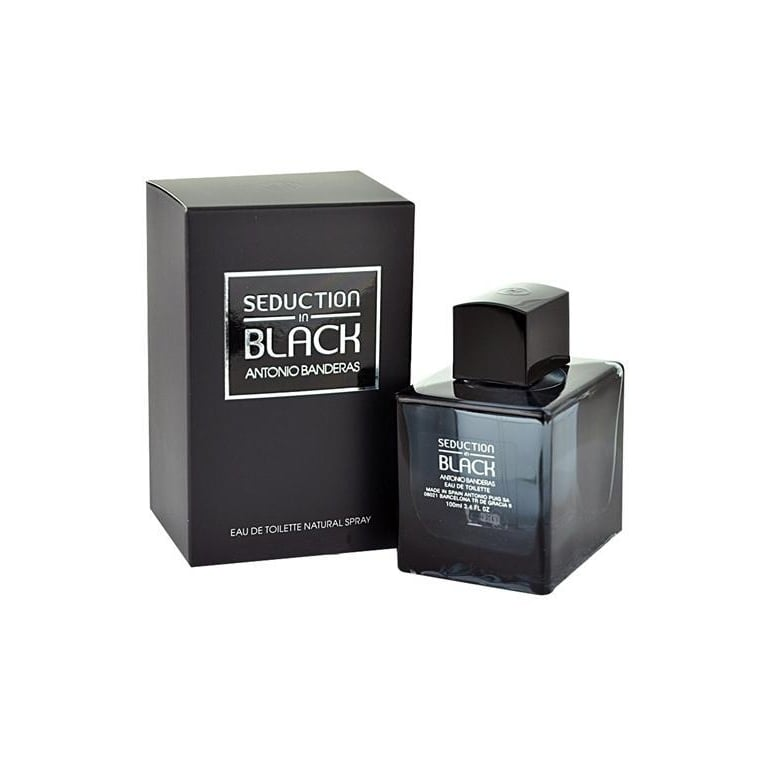 Antonio Banderas Seduction In Black - 50ml Eau De Toilette Spray.