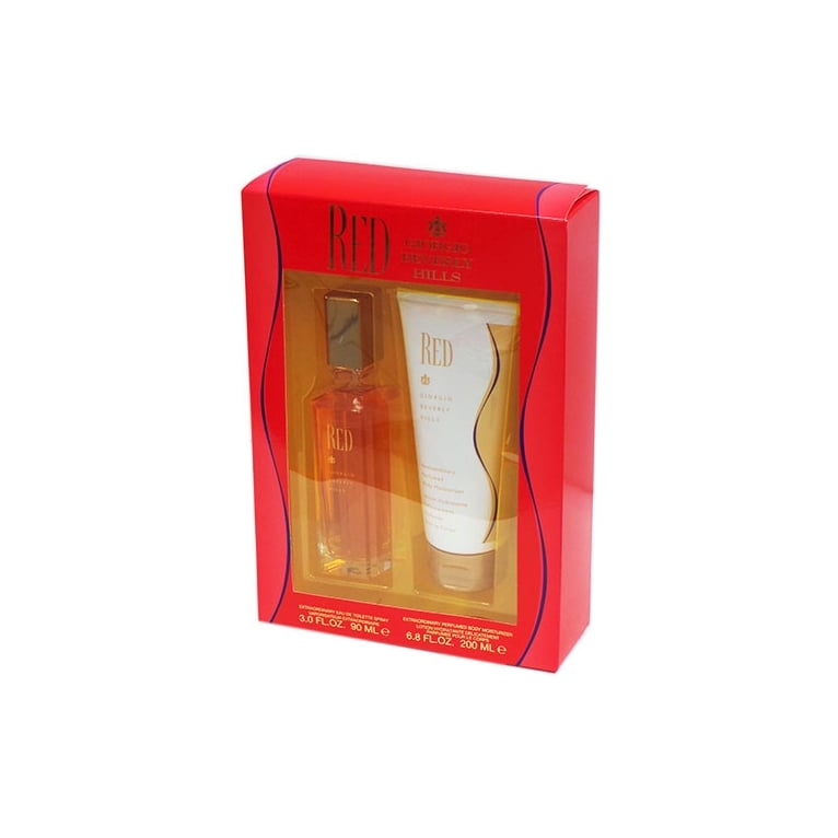 Giorgio Beverly Hill Giorgio Beverly Hills Red - 90ml Perfume Gift Set With 200ml Body Lotion.