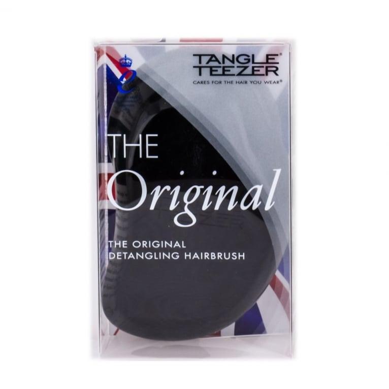 Tangle Teezer Original Detangling Hairbrush Panther Black.