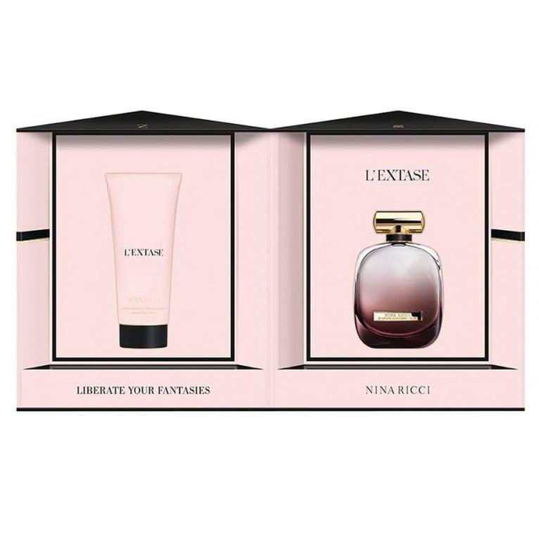 Nina Ricci L'Extase - 80ml Perfume Gift Set With 200ml Body Lotion.