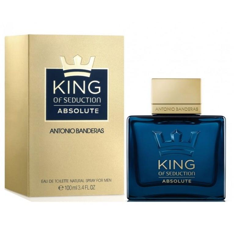 Antonio Banderas King of Seduction Absolute - 100ml Eau De Toilette Spray.