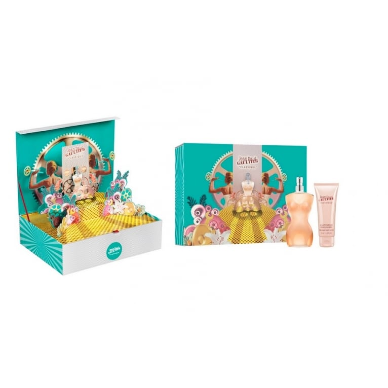 Jean Paul Gaultier Classique For Women 2016 - 50ml Gift Set With 75ml Body Lotio