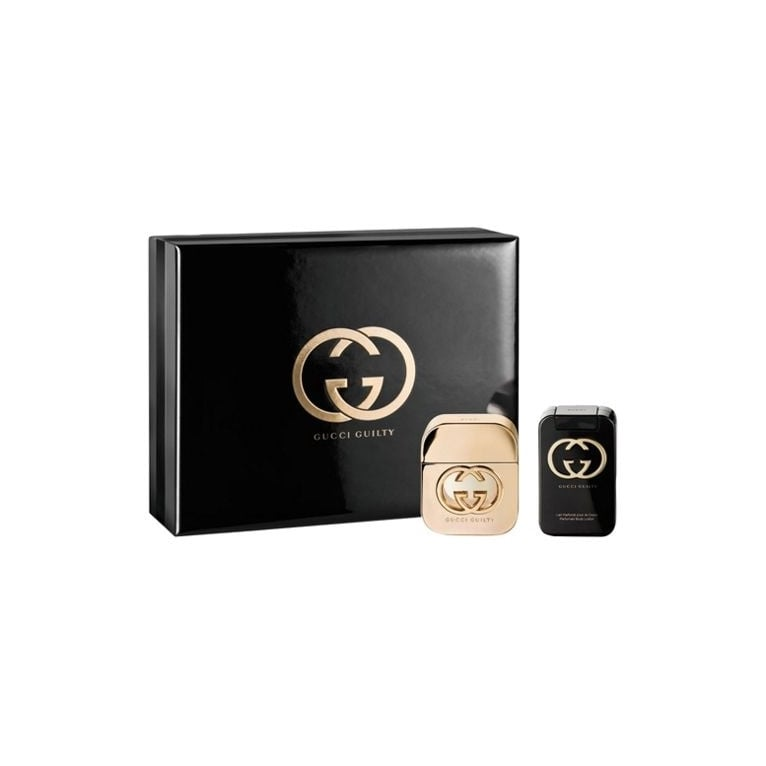 Gucci Guilty For Her - 50ml Gift Set with 100ml Body Lotion.