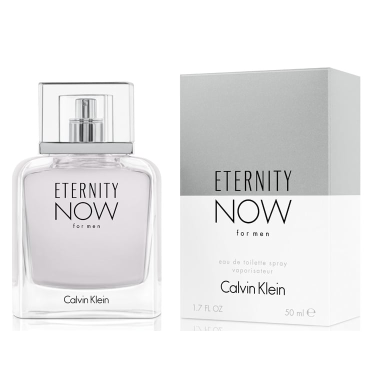 calvin klein eternity now for men  100ml eau de toilette spray.