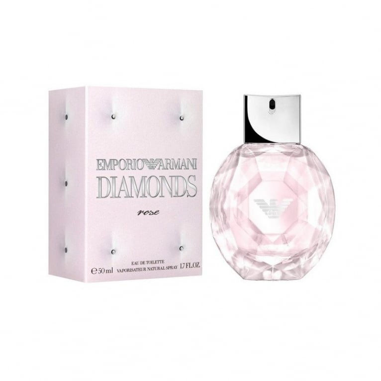 Emporio Armani Diamonds Rose - 50ml Eau De Toilette Spray.