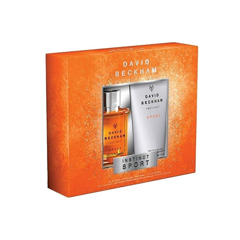 Beckham David Beckham Instinct Sport - 30ml EDT Gift Set With 200ml Hair and Body Wash.