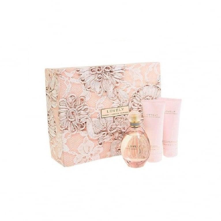 Sarah Jessica Parker Lovely - 30ml EDP Gift Set, DAMAGED BOX.