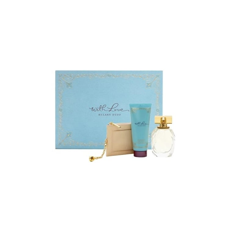 Hilary Duff With Love - 30ml EDP Gift Set With 50ml Body Lotion, DAMAGED BOX.