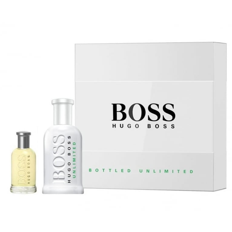 Hugo Boss Bottled Unlimited - 100ml EDT Gift Set With 30ml Boss Bottled EDT
