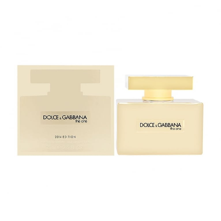 Dolce and Gabbana The One - 50ml Eau De Parfum Spray, Gold Edition.