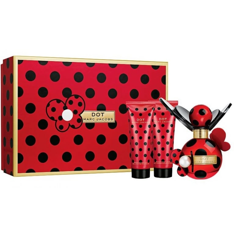 Marc Jacobs Dot - 50ml Gift Set With Body Lotion and Shower Gel.