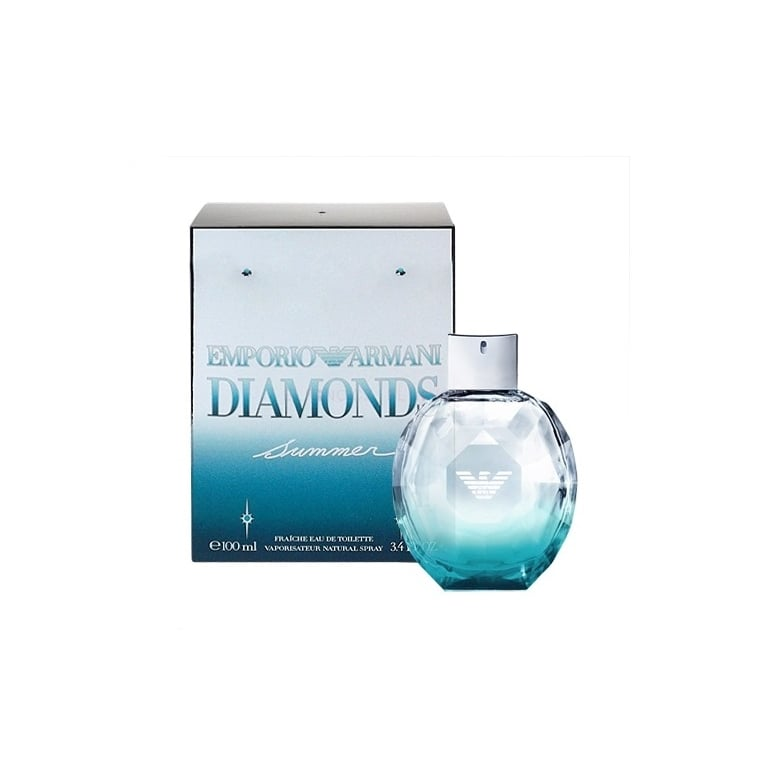 Emporio Armani Diamonds Summer Eau Fraiche - 100ml Eau De Toilette Spray.