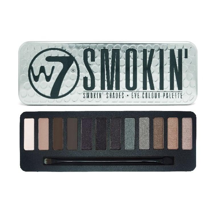 W7 Cosmetics Smokin! Shades Eye Shadow Palette - 12 Shades.