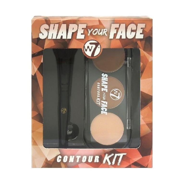 W7 Cosmetics Shape Your Face Contour Kit.