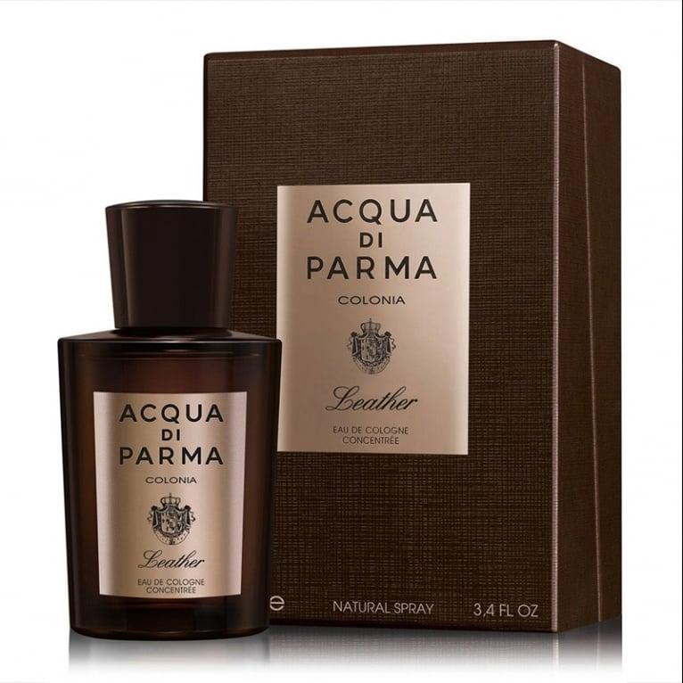 Acqua Di Parma Colonia Leather - 100ml Eau De Cologne Concentree Spray.