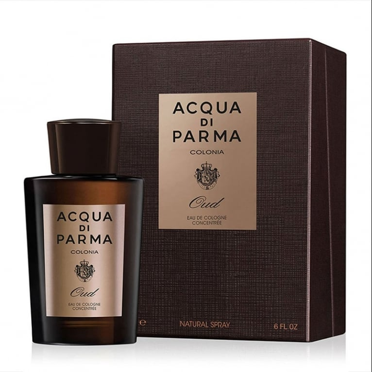Acqua Di Parma Colonia Oud - 180ml Eau De Cologne Concentree Spray.