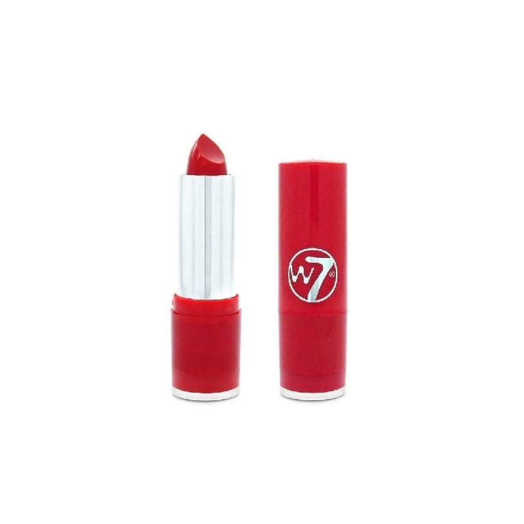 W7 Cosmetics W7 Fashion Moisturising Lipstick The Reds - Scarlett Fever.