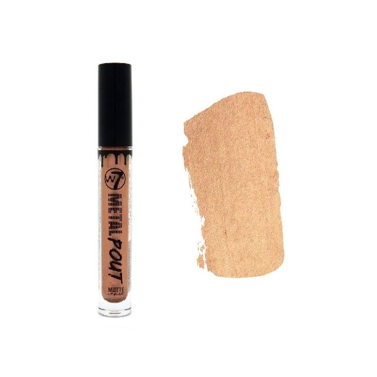 W7 Cosmetics Metal Pout Matte Lip Gloss - Heavy Metal.