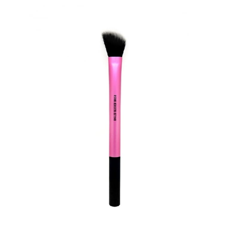 W7 Cosmetics Pro-Artist Angled Blusher Brush - Ideal For Blending and Applying