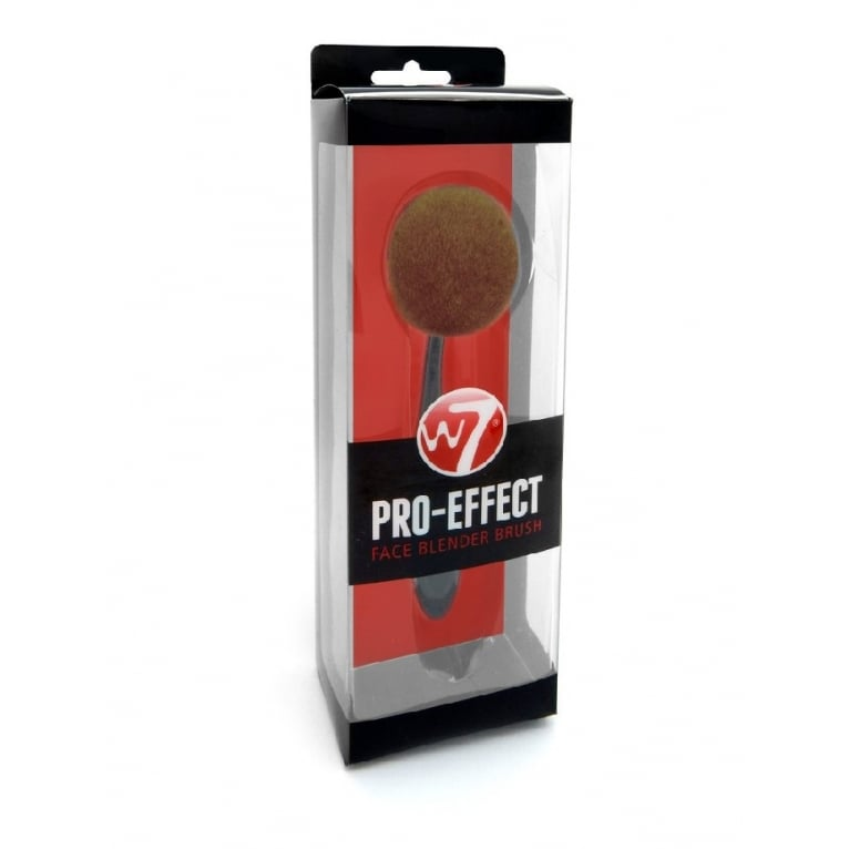 W7 Cosmetics Pro Effect Face Blender Brush - Super Soft Bristles.